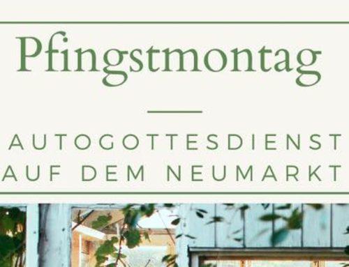Ökumenischer Auto-Gottesdienst am Pfingstmontag