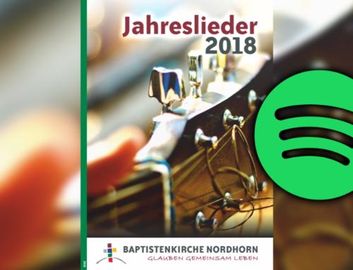 Jahreslieder 2018 Spotify
