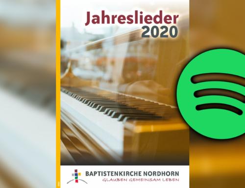 Jahreslieder 2020 Spotify