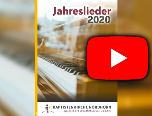 Jahreslieder 2020 YouTube